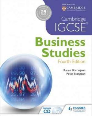 Cambridge IGCSE Business Studies Latest edition (Hodder)