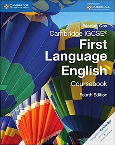 Cambridge IGCSE First Language English (Latest edition)