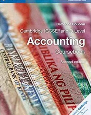 Cambridge IGCSE and O Level Accounting
