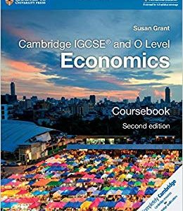 Cambridge IGCSE and O Level Economics Coursebook