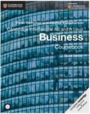 Cambridge International AS and A Level Business Studies (Latest edition)