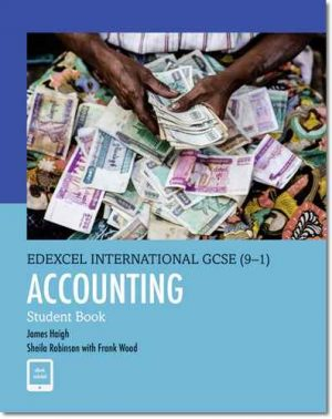 Edexcel IGCSE Accounting Student Book (9-1)