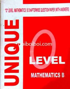 O Level Math B ChapterWise Solution
