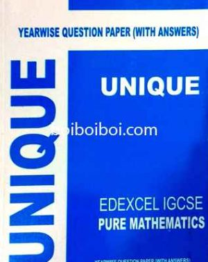 Edexel Igcse Pure Math Yearwise Qp Solution