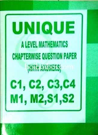 A Level Math Cw Qp With Solution C1 C2 C3 C4 M1 M2 S1 S2