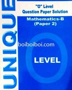 O Level Yearly Paper 2 Math B Solution (10years)