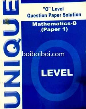 O Level Yearly Paper 1 Math B Solution (10years)