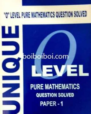 O Level Pure Math Question Solved P1(10year)