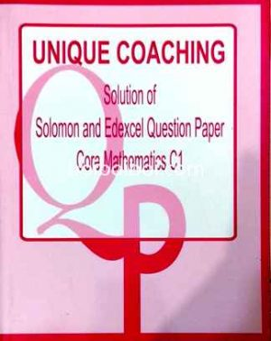 Worked Solution Of Solomon And Edexcel Question Paper C1