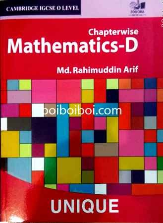O Level Math D ChapterWise arif(16 years)