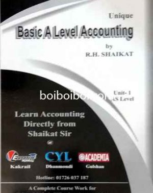 Basic A Level Accounting Unit 1 As