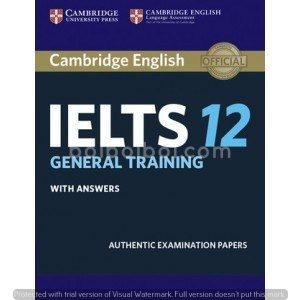 Cambridge IELTS General Training 12 With Answer