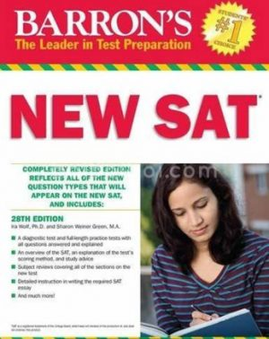 New SAT (Most Up-To-Date Review And Practice Test) ( white print )