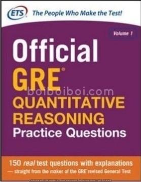 Official GRE QUANTITATIVE REASONING(V0l-1) ETS