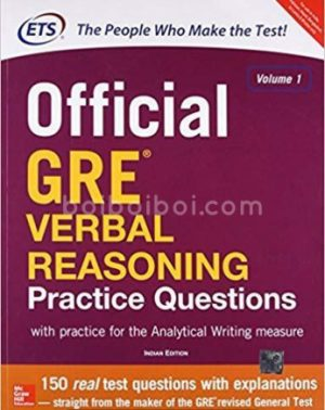 Official GRE Verbal Reasoning Practice Questions (ETS)