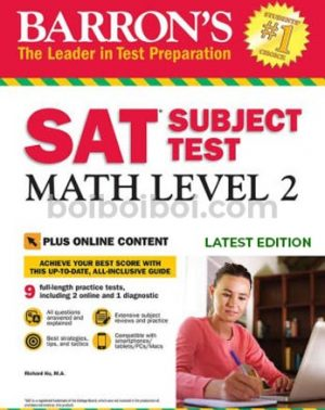 Barrons SAT subject tests Math Level 2