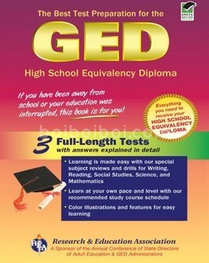 The Best Test preparation for the new GED Full length Tests with answers expalined in detail)