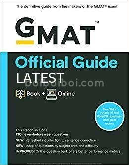 The Official Guide For GMAT 2019