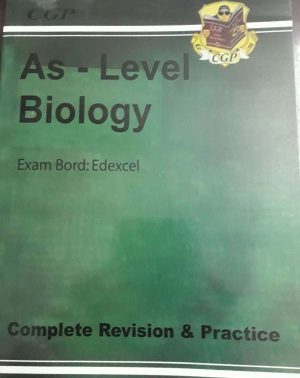 AS LEVEL BIOLOGY Complete Revision &Practice (CGP Guied)