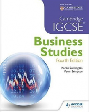 Cambridge IGCSE Business Studies, 4th Edition- Karen Borrington, Peter Stimpson