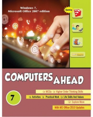 """Computer Ahead"" Book-7 (Fourth Edition) by Anjana Jain"