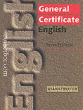 GCE General Certificate English – Alan Etherton