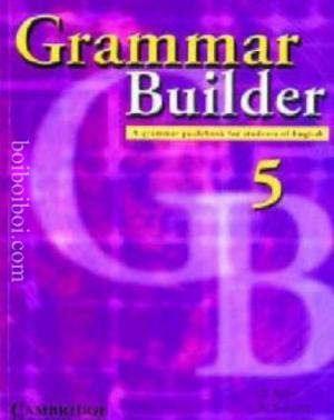 Grammar Builder 5- A.Amin, R.Eravelly.F.J.Ibrahi