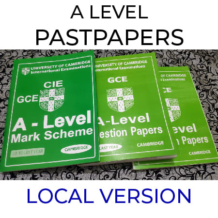 A level LOCAL Pastpaper One Click Order