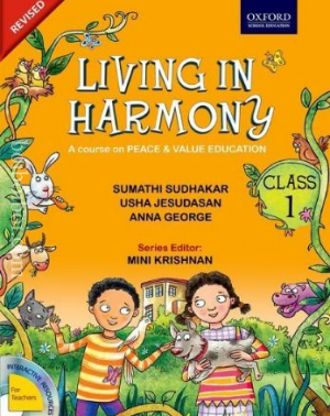 Living in Harmony (revised) Book – 1, By-Sumathi Sudhakar, Usha Jesudasan