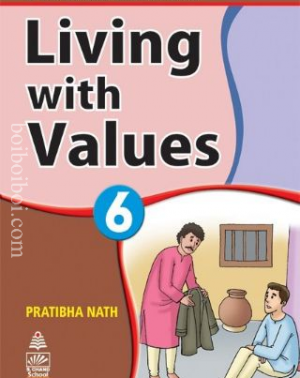 Living with values Book-6 Pratibha Nath