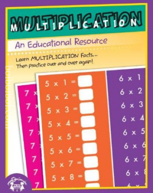 Multiplication Book (Ignite Publicatioris, Revised 2015)