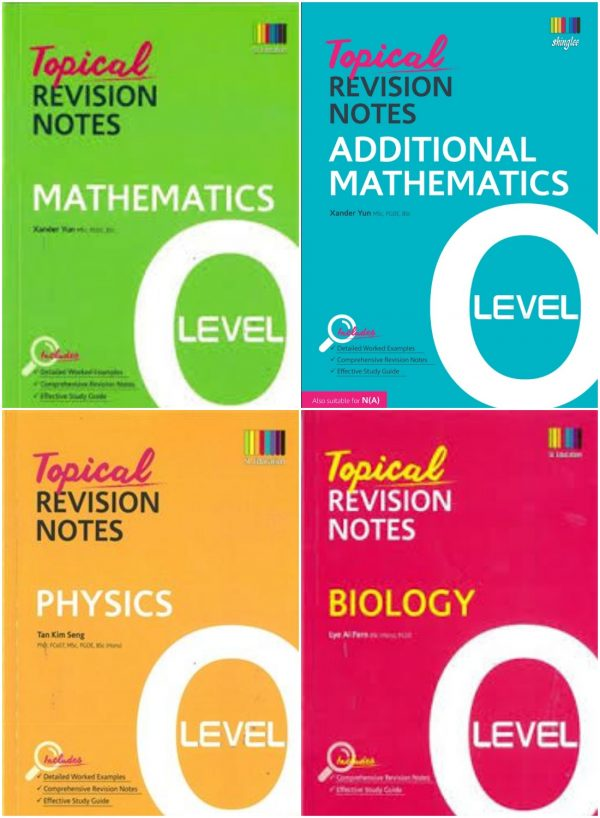 Topical revision notes by shinglee bangladesh