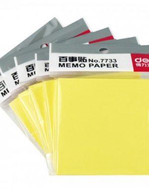 Deli 7733 Sticky Notes (76X76Mm)