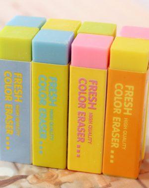 Deli Fresh Color Eraser 3045(4 Colors)