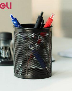 Deli Pen Stand Round Pen Holder 909