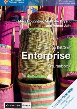 Cambridge IGCSE (R) Enterprise Coursebook with Cambridge Elevate Edition (2 Years)