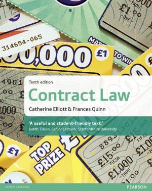 Elliott & Quinn: Contract Law 10th ed (MyLawChamber) pearson