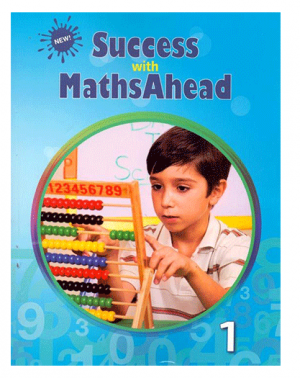 Success with Maths Ahead Book – 1 bangladesh