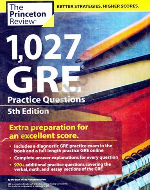 1027 GRE Practice questions (Photocopy)