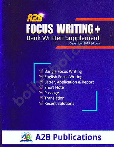 A2B Focus Writing+