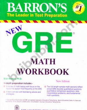 Barron's New GRE Math Workbook