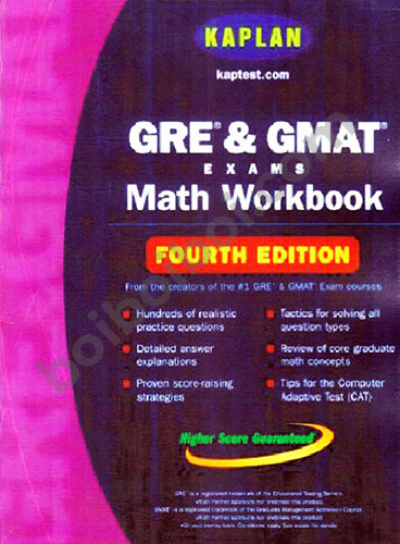 GRE & GMAT exams Math Workbook