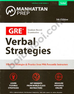 GRE Verbal Strategies