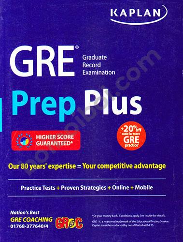 Kaplan-GRE Prep Plus